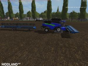 New Holland CR1095 blue+cutter Edit v 2.0 (RETRAVAILLER BY: BOB 51160), 2 photo