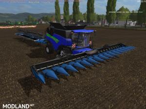New Holland CR1095 blue+cutter Edit v 2.0 (RETRAVAILLER BY: BOB 51160), 3 photo