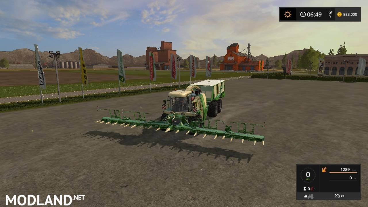 Krone Easy Collect 903D
