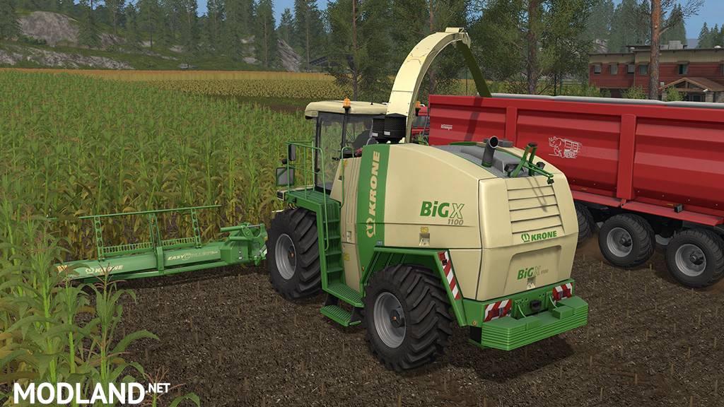 BIG X 1100 WITH CARGO TRAILER