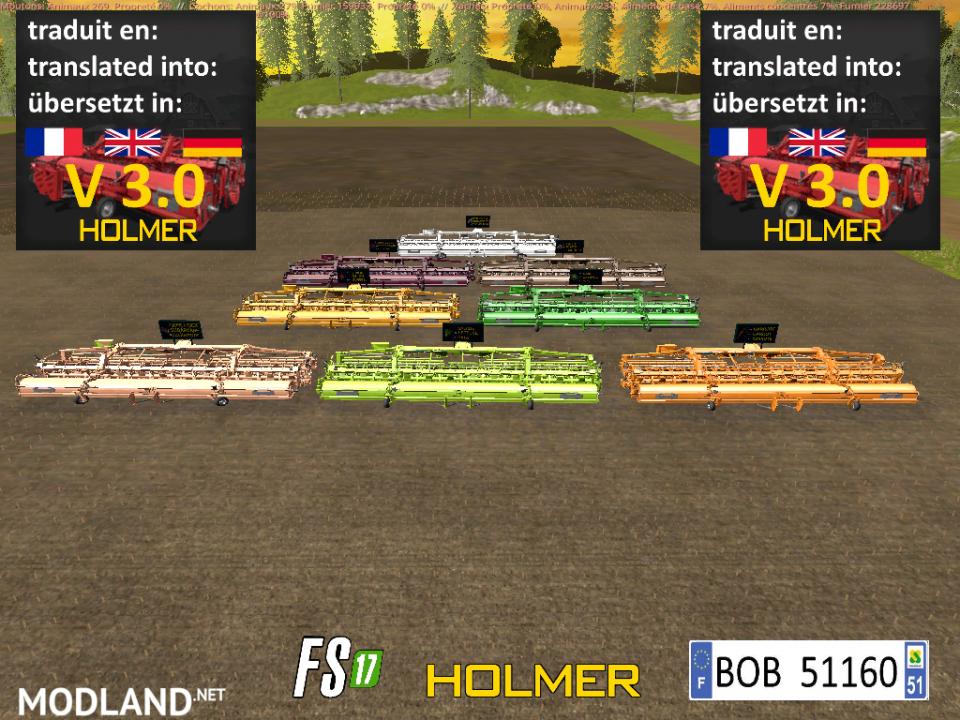 FS 17 Pack Cutter Holmer by BOB51160