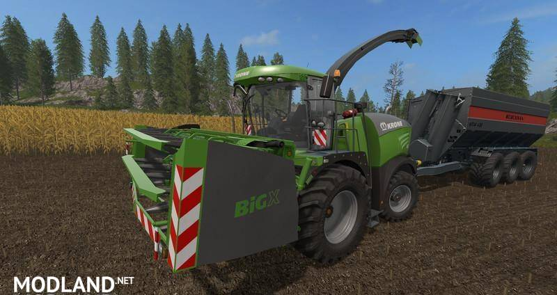 fs17 Krone Big X Cutters as special edition