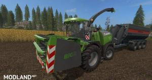 fs17 Krone Big X Cutters as special edition, 1 photo