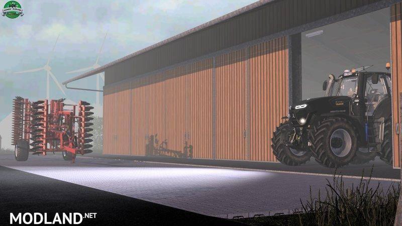 Real Plus Jaguar >> Deutz Fahr TTV 9 Series MR v 1.1 mod Farming Simulator 17