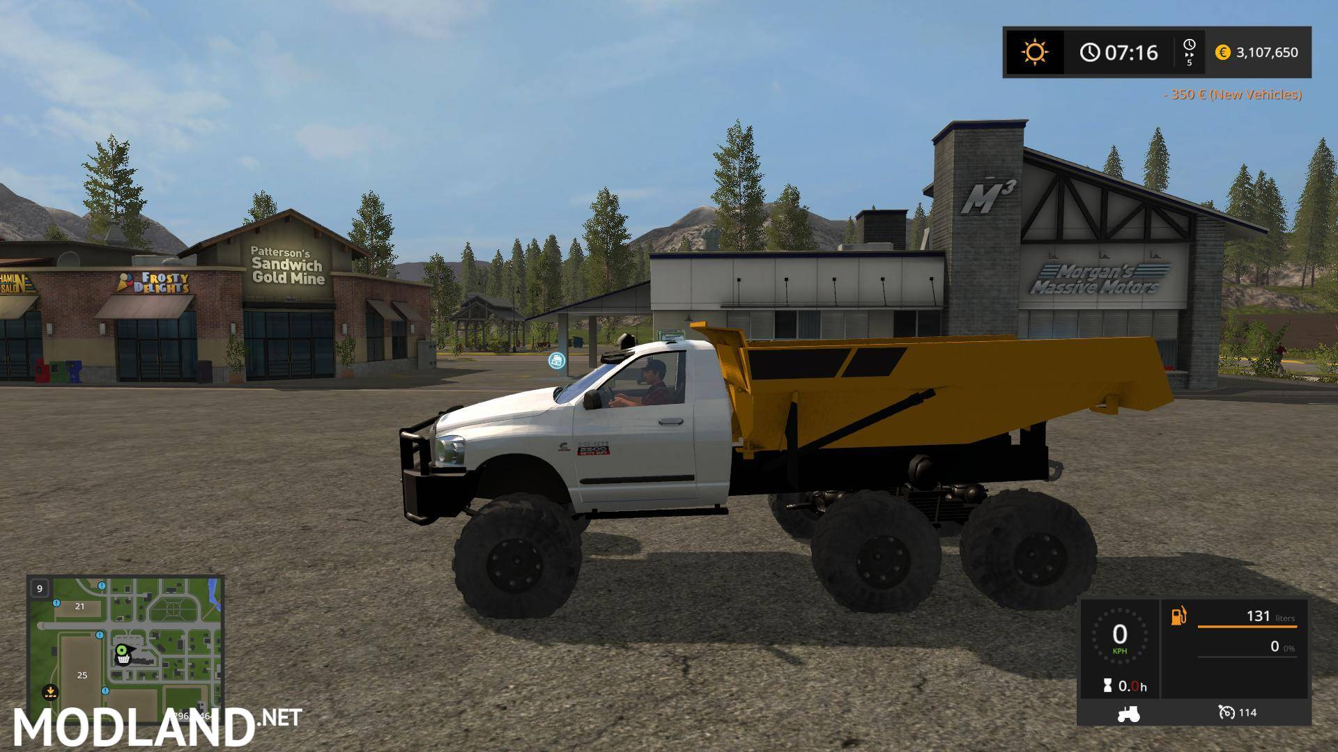 Dodge Dump Rock Truck V 1 0 Mod Farming Simulator 17