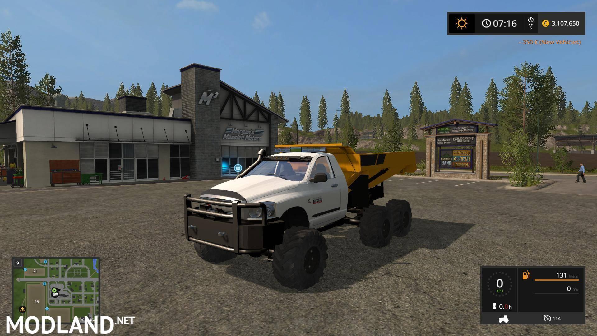 Dodge Dump Rock Truck V 1 0 Mod Farming Simulator 17