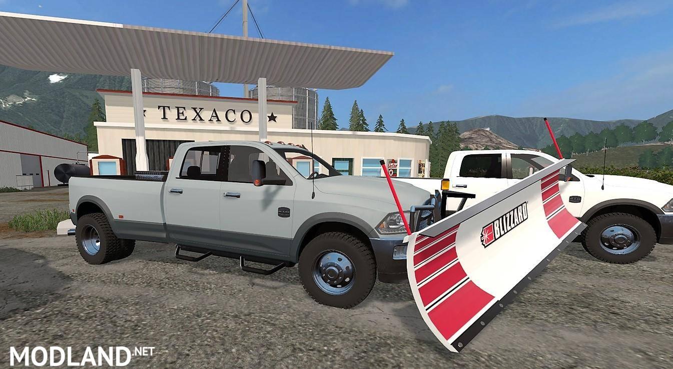 Dodge Ram 3500 v 2.0 mod Farming Simulator 17