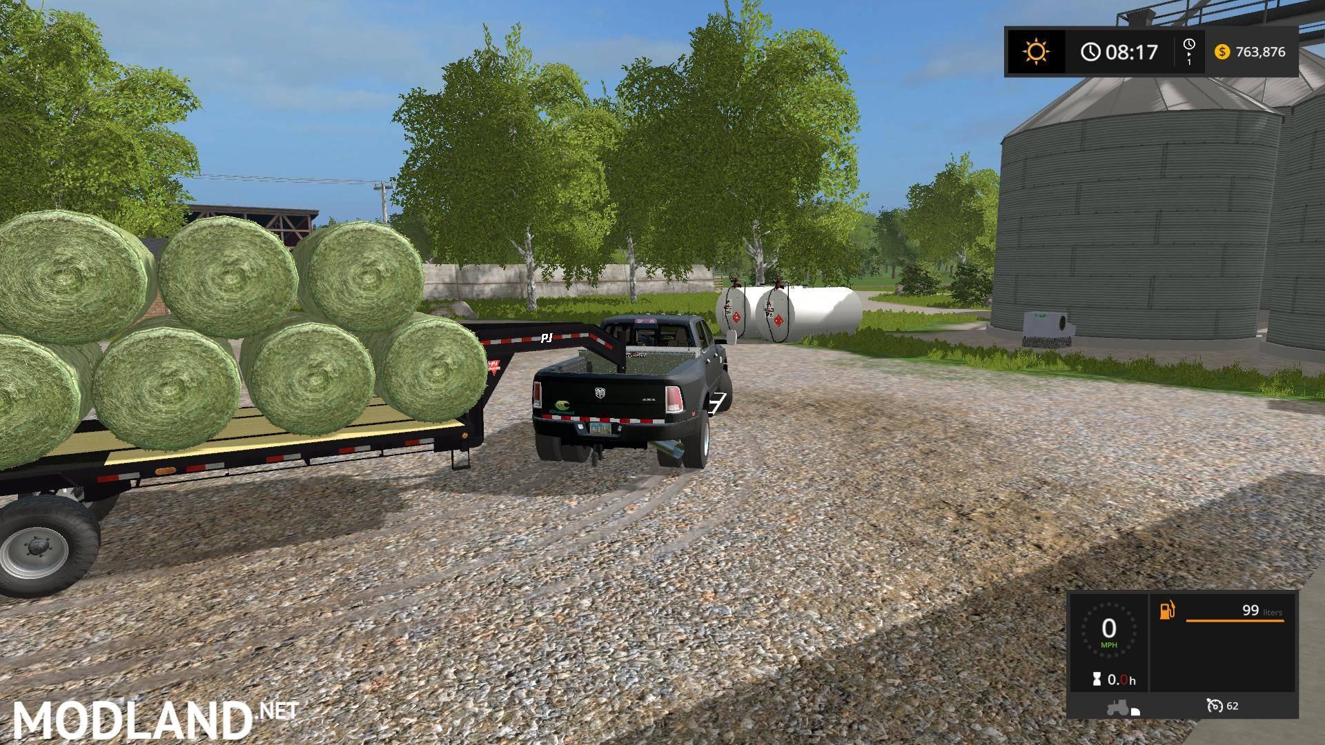 Dodge Ram 3500 v 3 0 mod Farming Simulator 17