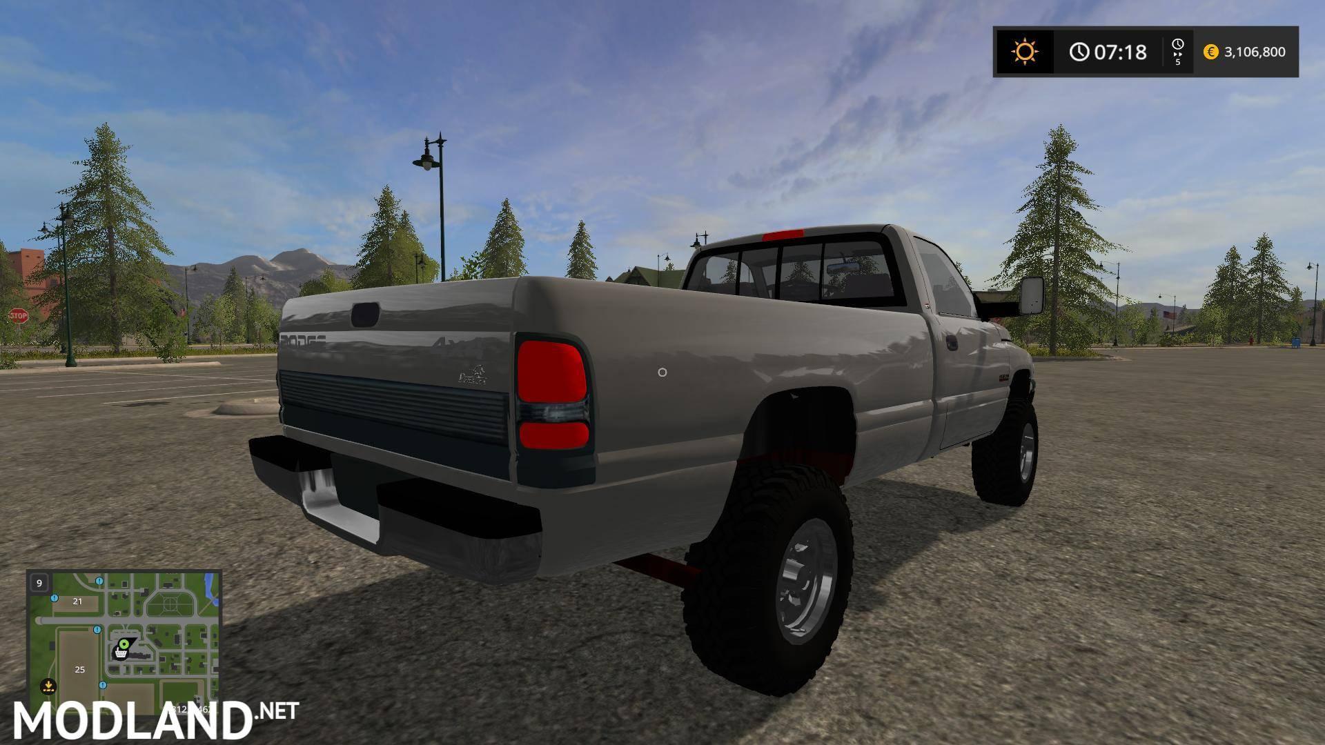Dodge Ram Runner >> Dodge v 1.05 mod Farming Simulator 17