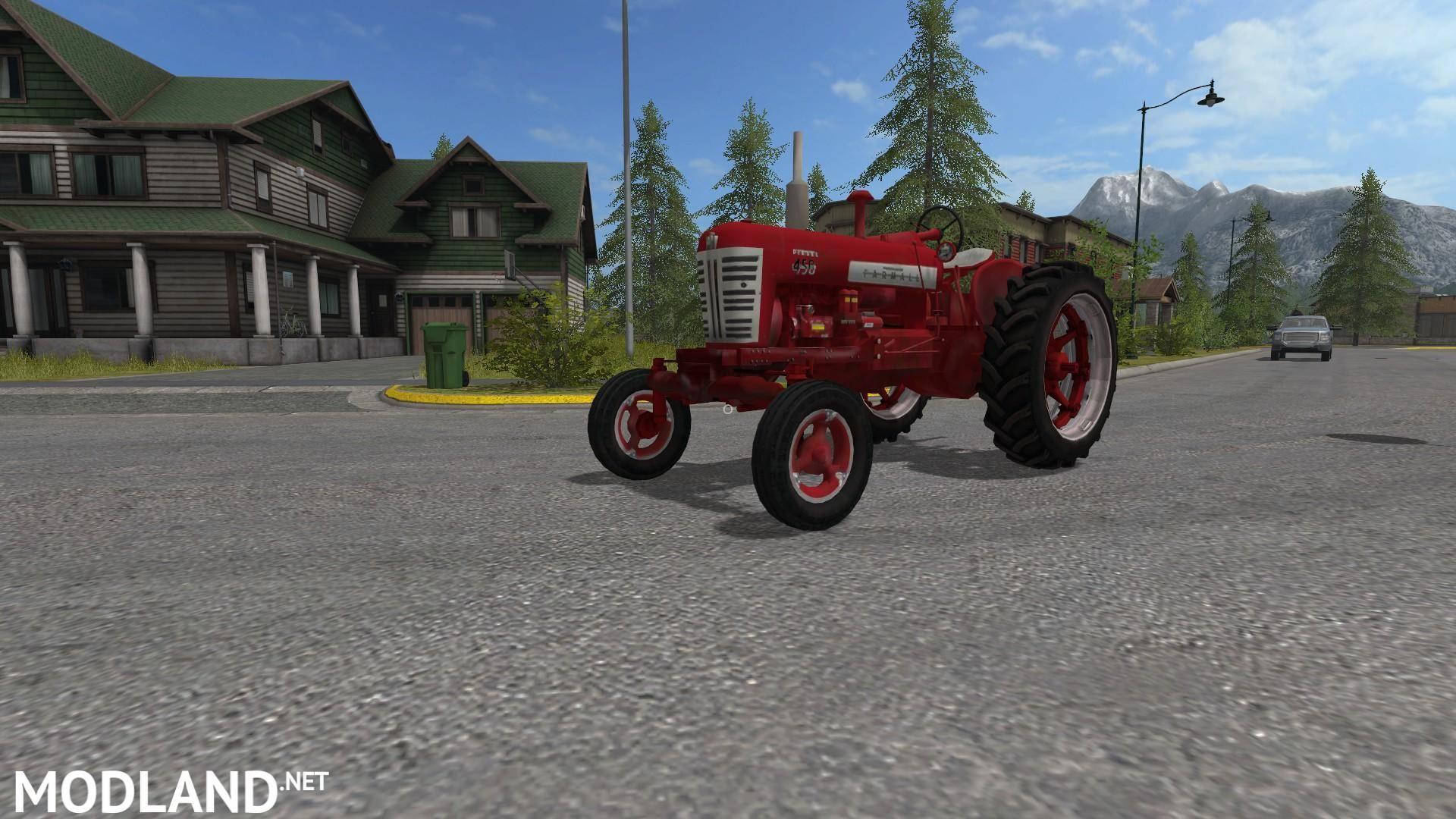 International Tractor Mods : Farmall v mod farming simulator