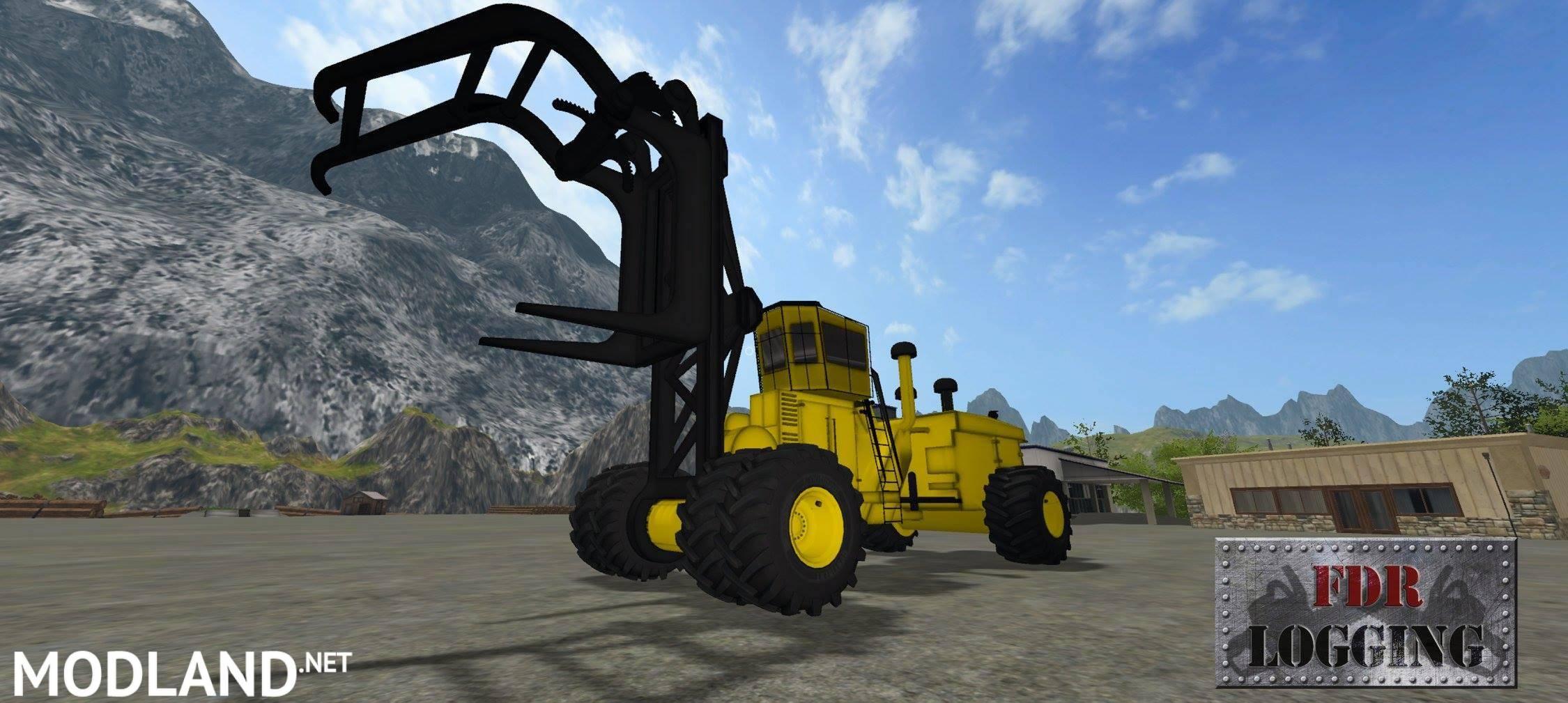 fdr logging letourneau mod farming simulator