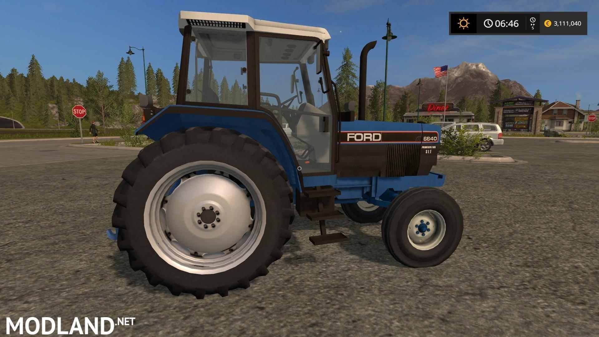 Ford 6640 2wd V 1 0 Mod Farming Simulator 17