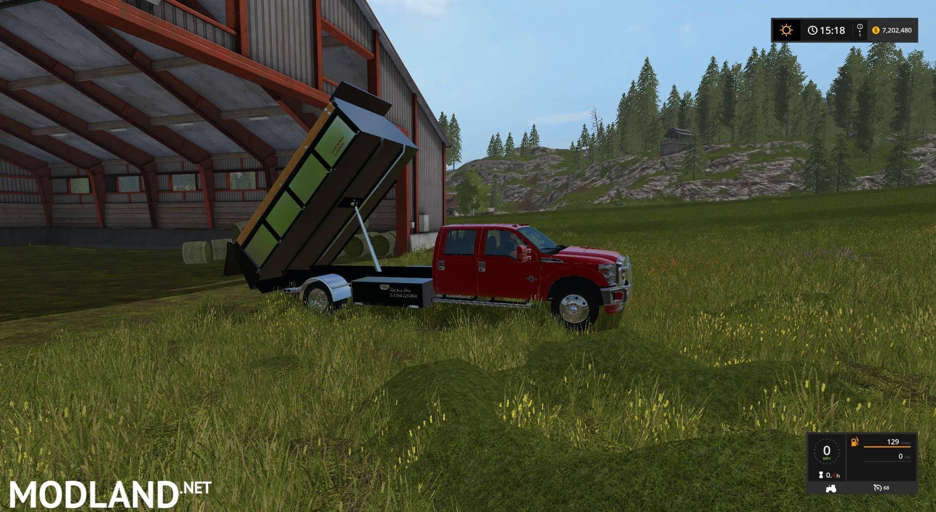 Ford F 350 Dump bed v 1 0 mod Farming Simulator 17