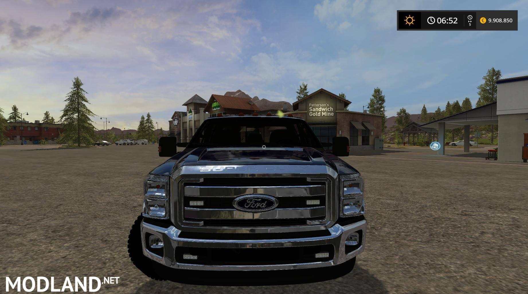Ford F350 Work Truck V 1 1 Mod Farming Simulator 17