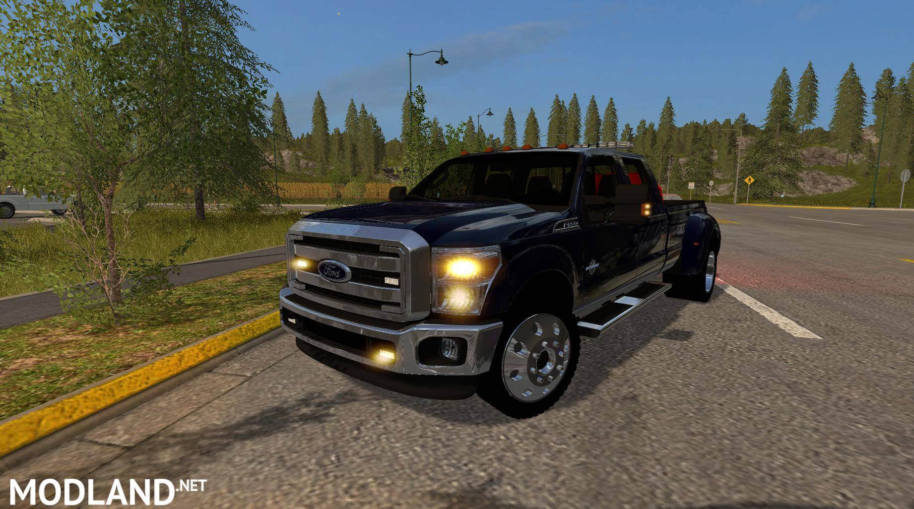 Shelby Ford Trucks >> FORD F350 WORK TRUCK v 1.2 mod Farming Simulator 17