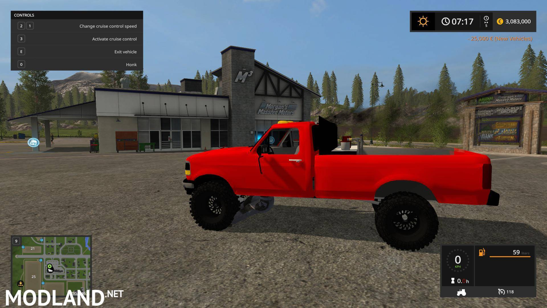 Shelby Ford Truck >> Ford Powerstroke beta mod Farming Simulator 17