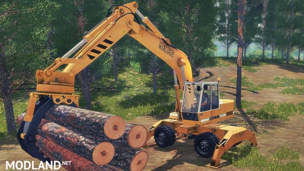 Excavator Liebherr 902 Pack for v1.5.1 and Joystick