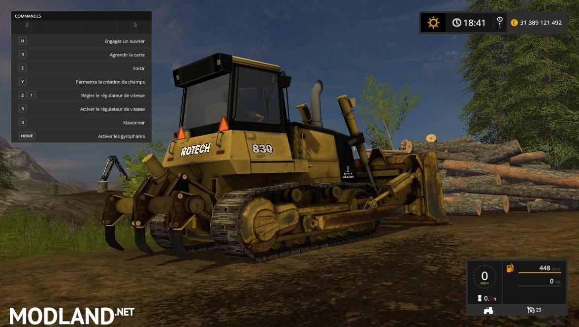 Rotech 830 Bulldozer