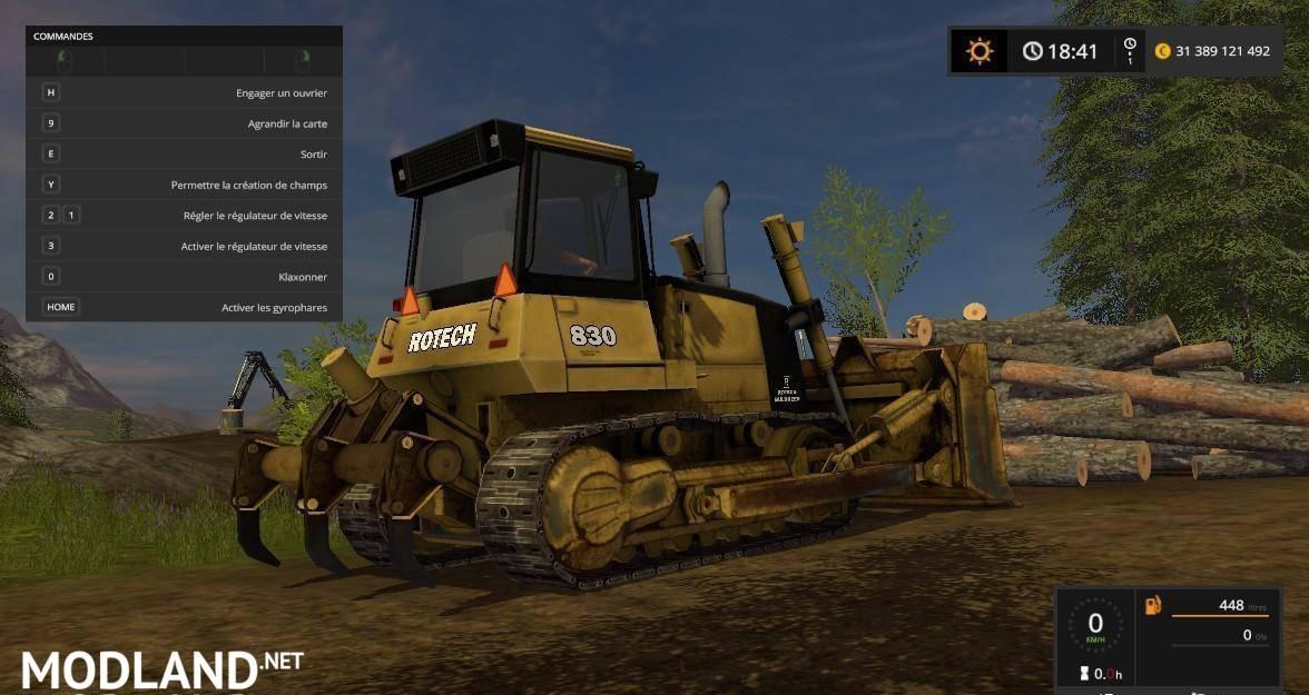 Bulldozer Rotech 830