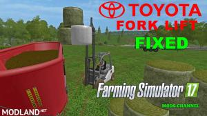 TOYOTA FORK LIFT With Corrected Handling Movements, 1 photo
