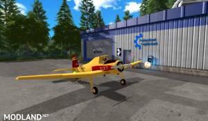 Hummel Z-37 Flying Fertilizer Spreader