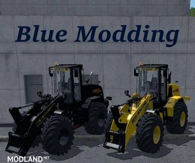 New Holland Radlader Pack by Alex Blue v 1.4.5, 1 photo