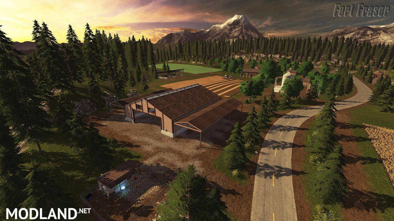 Fort Fraser Map V 1 0 Mod Farming Simulator 17
