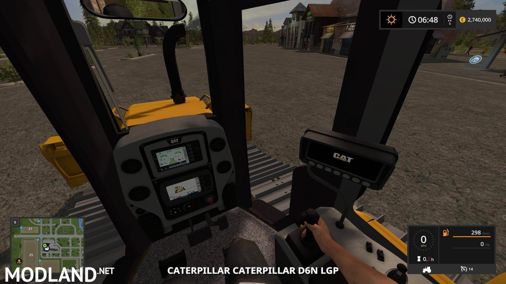 Fs17 Cat D6n Lgp V 1 0 Mod Farming Simulator 17