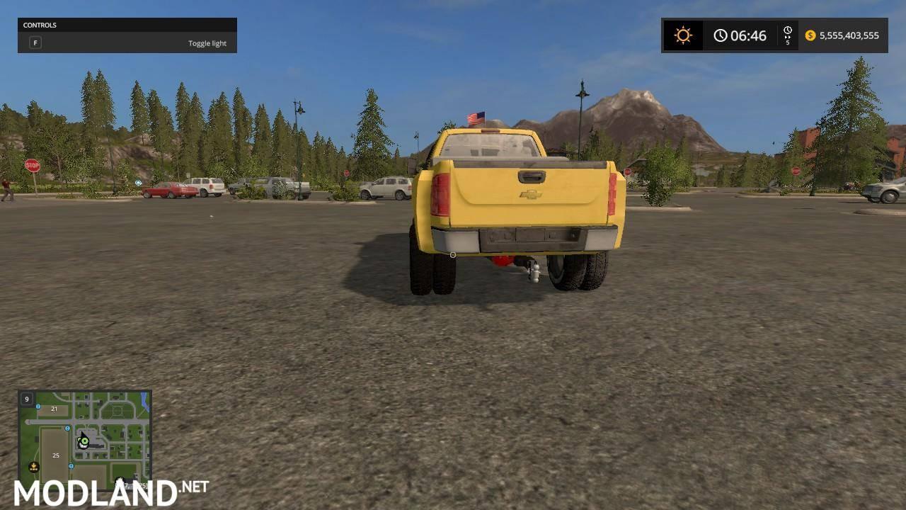 Chevy 3500 HD Converted mod Farming Simulator 17