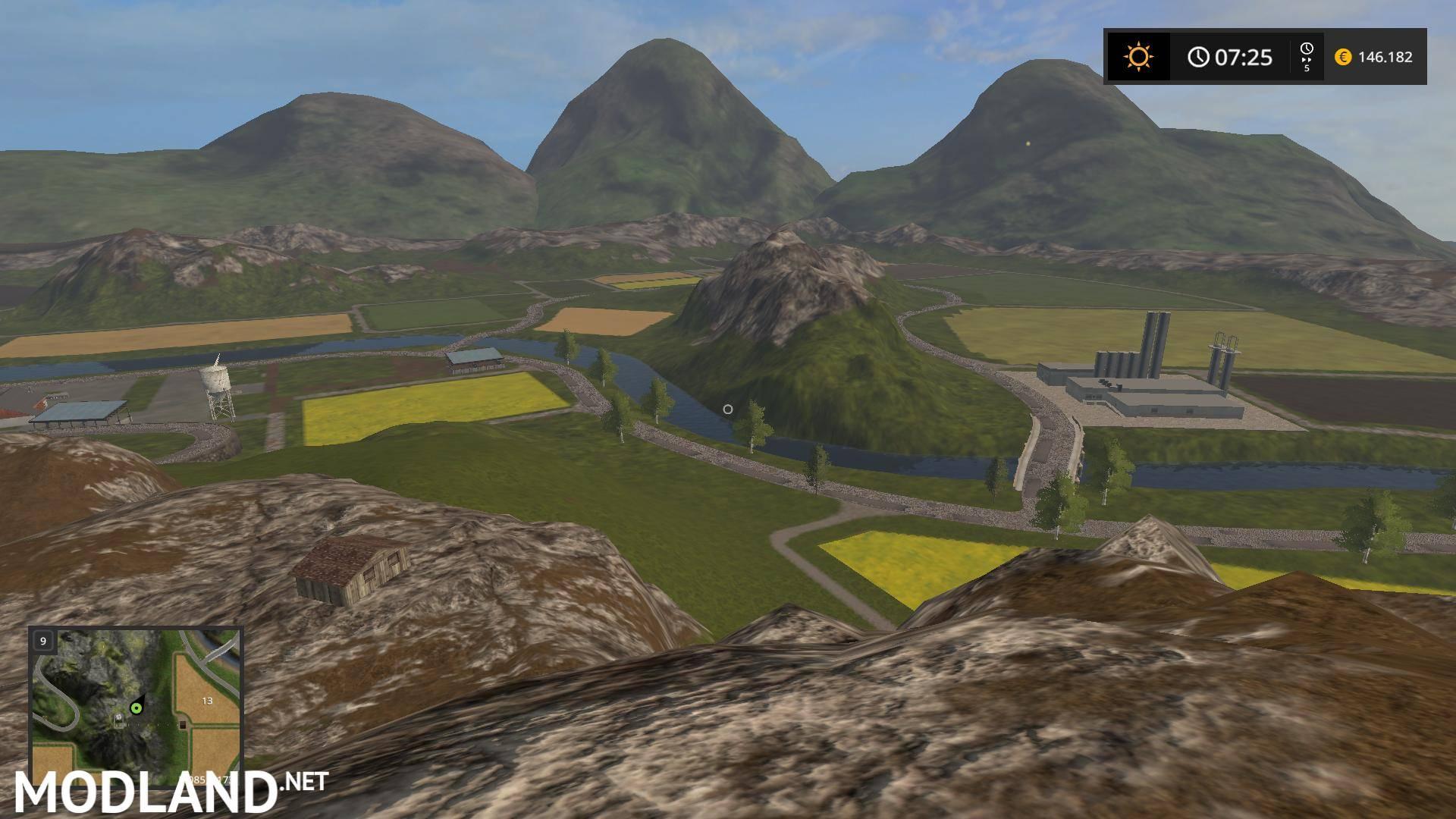 Farming Legend Map v 1.0 mod Farming Simulator 17