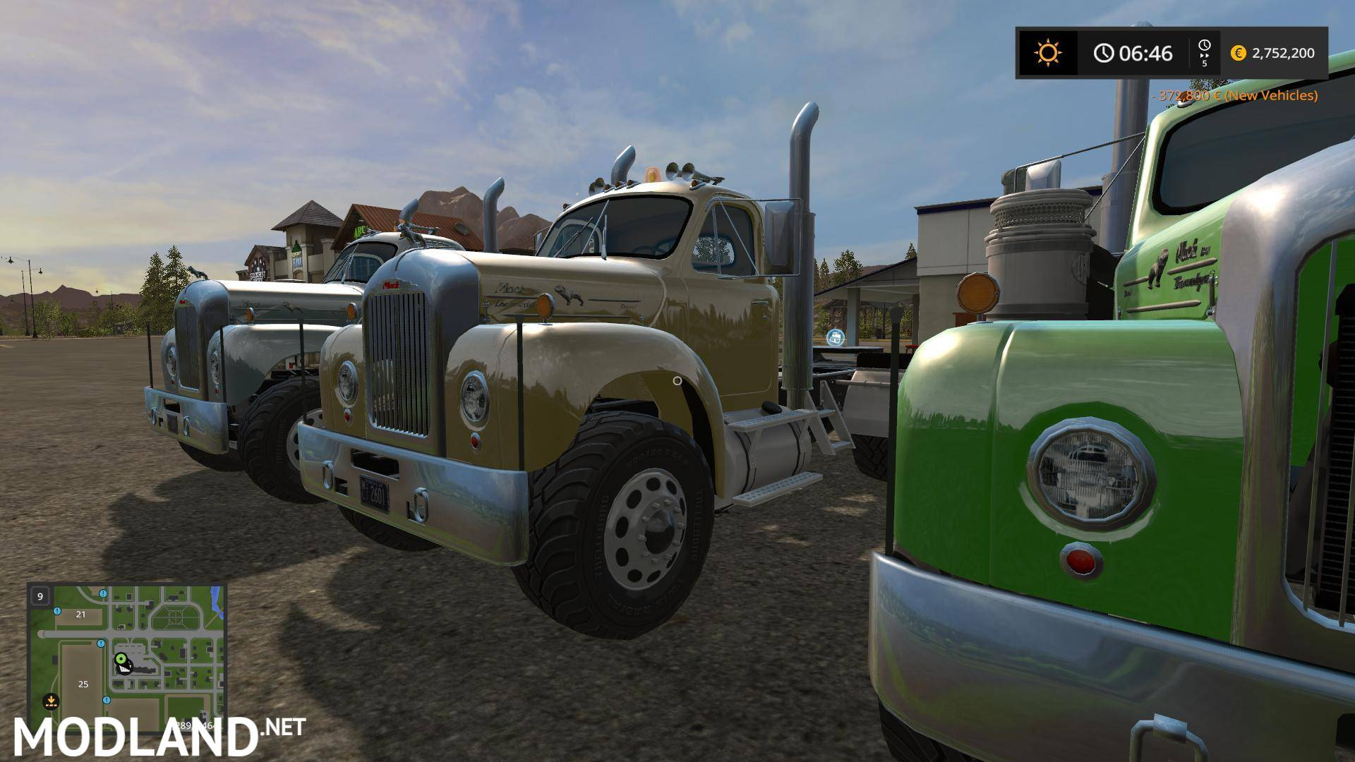 Fs17 Mack B61 V8 Engine V 1 0 Mod Farming Simulator 17
