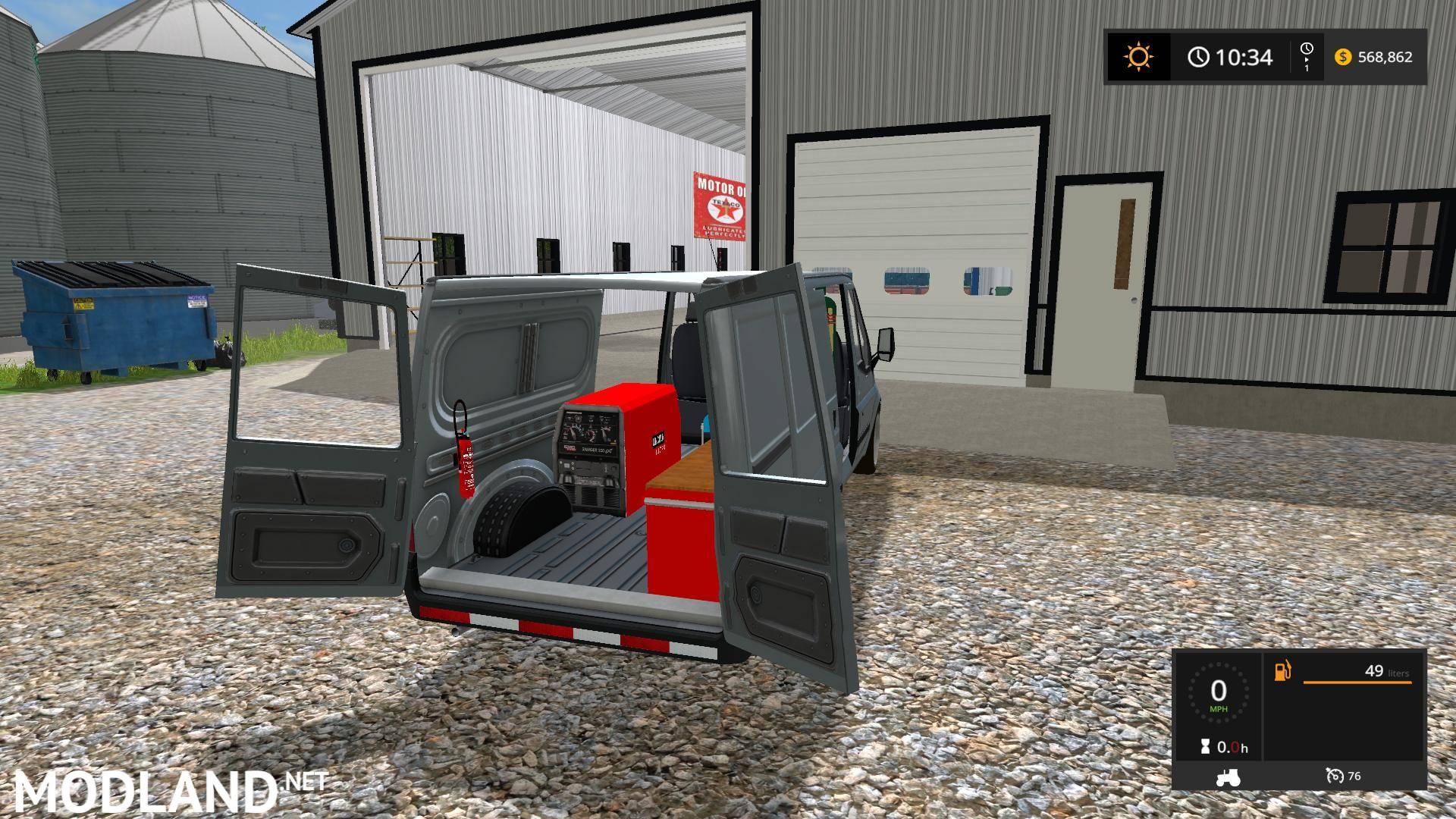 Work Van V 2 0 Mod Farming Simulator 17