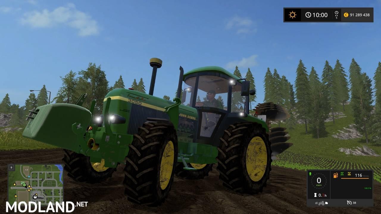 John Deere 3050 FL mod Farming Simulator 17