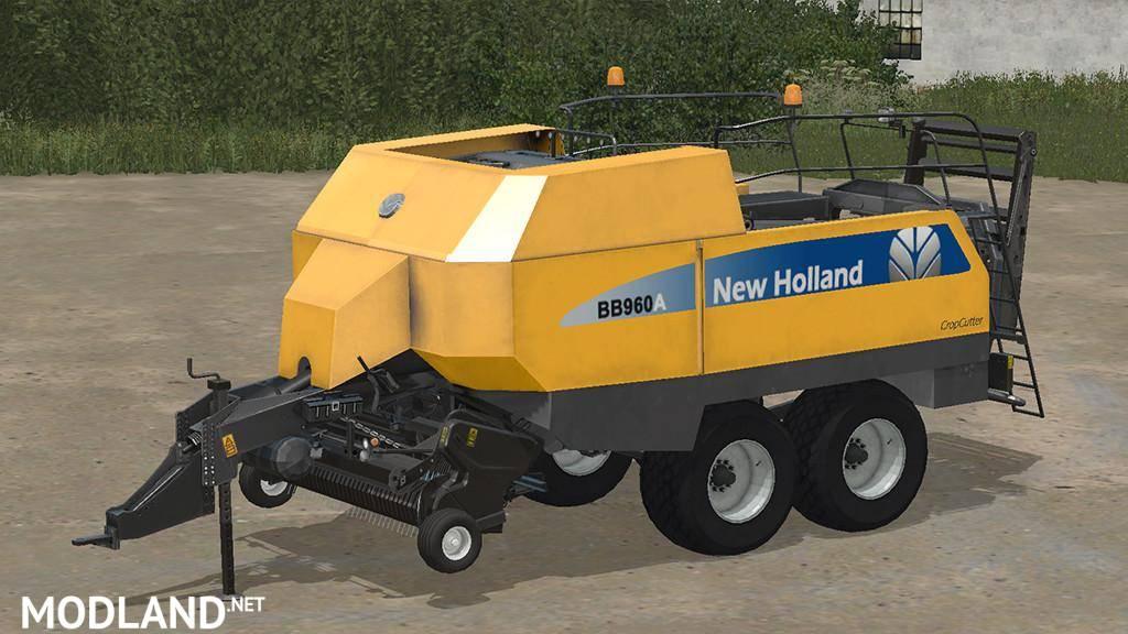 NEW HOLLAND BIG BALER 960A
