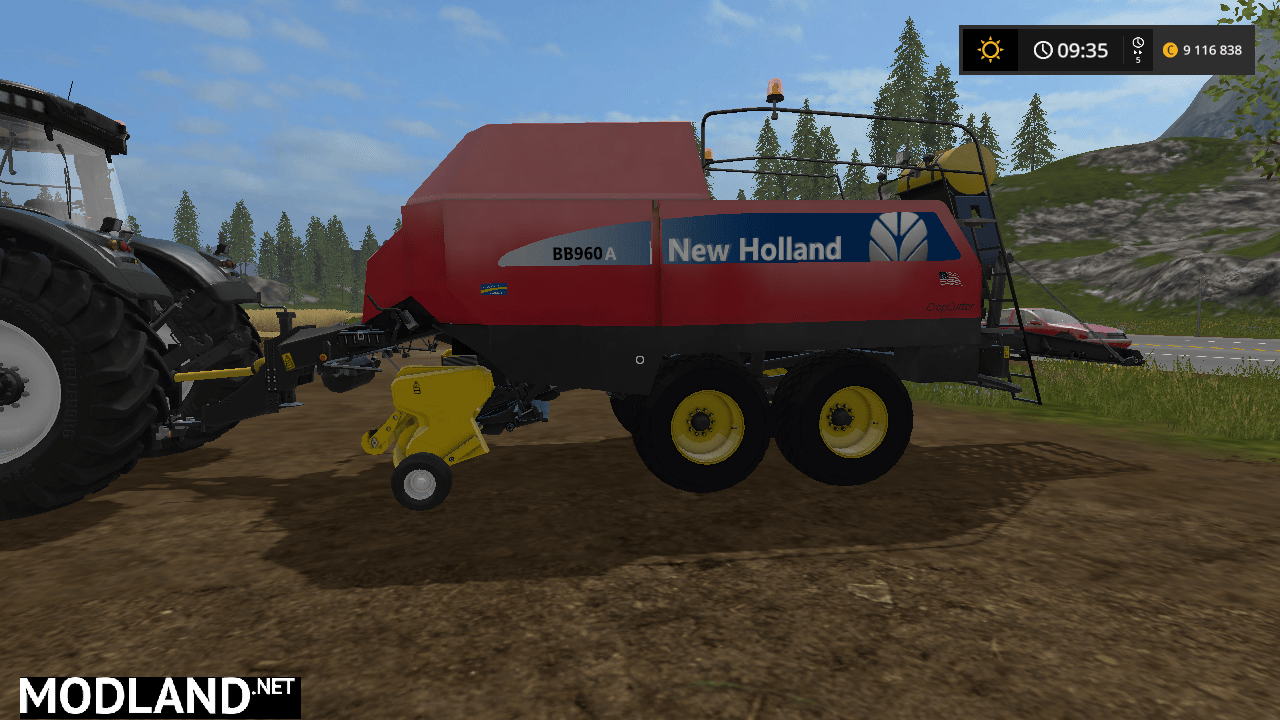 NEW HOLLAND BB960A AMERICAN