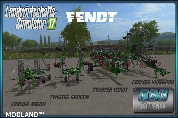 Fendt Twister 6606DN/13010T Fendt Former 456DN/10065Pro DH