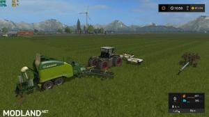 Class 3200 and Krone Ultima Balers with front Nadal, 1 photo