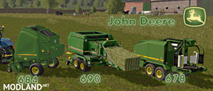 John Deere Balers Pack (684/690/678) , 1 photo