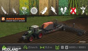 FS17 Amazone Condor Multi-Seeder
