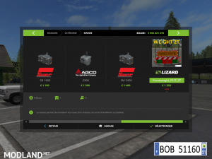 FS17 FRONTWEIGHT 2T V2.0 BY BOB51160, 2 photo