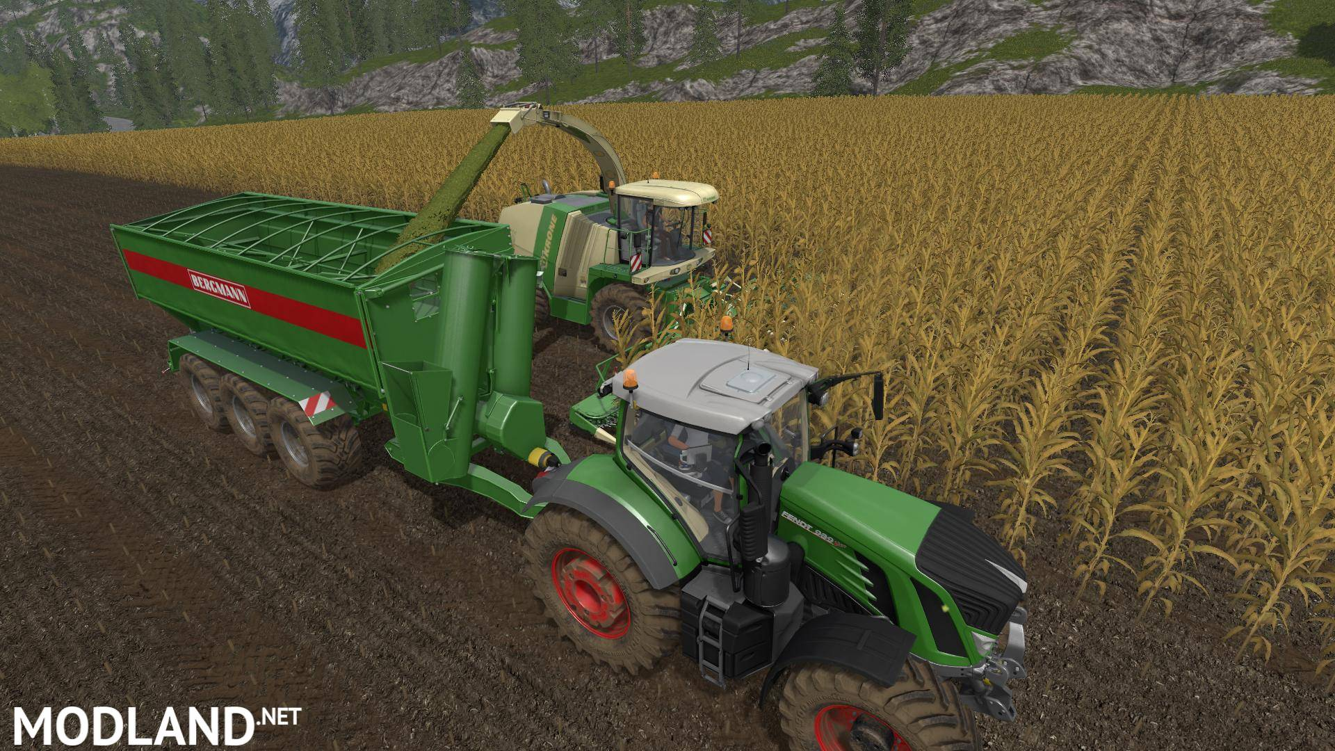 Improved Auger Wagons v 1 0 mod Farming Simulator 17