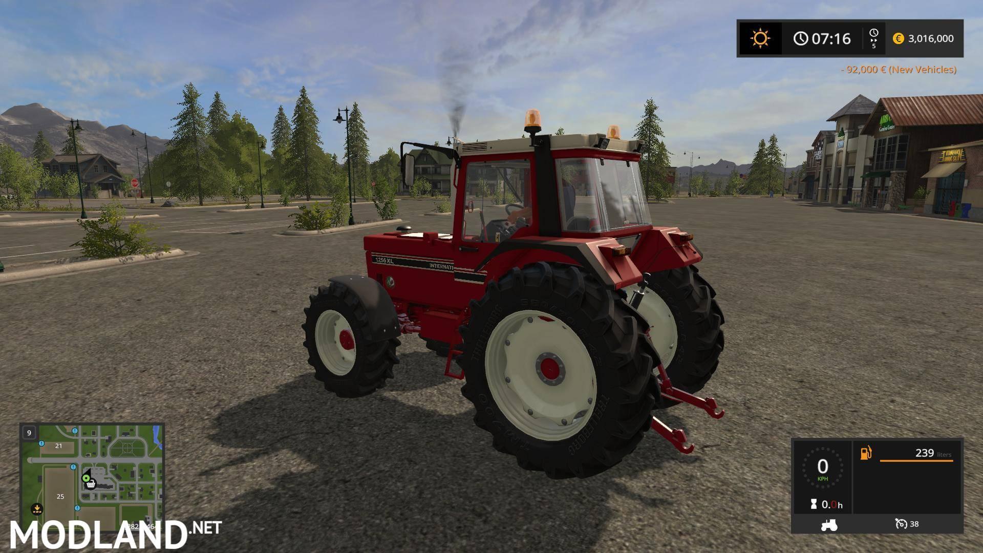 International Tractor Mods : International v mod farming simulator