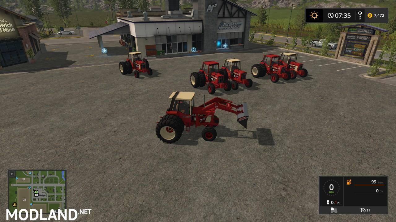 International Harvester 86 Series Pack v 1 0 mod Farming Simulator 17
