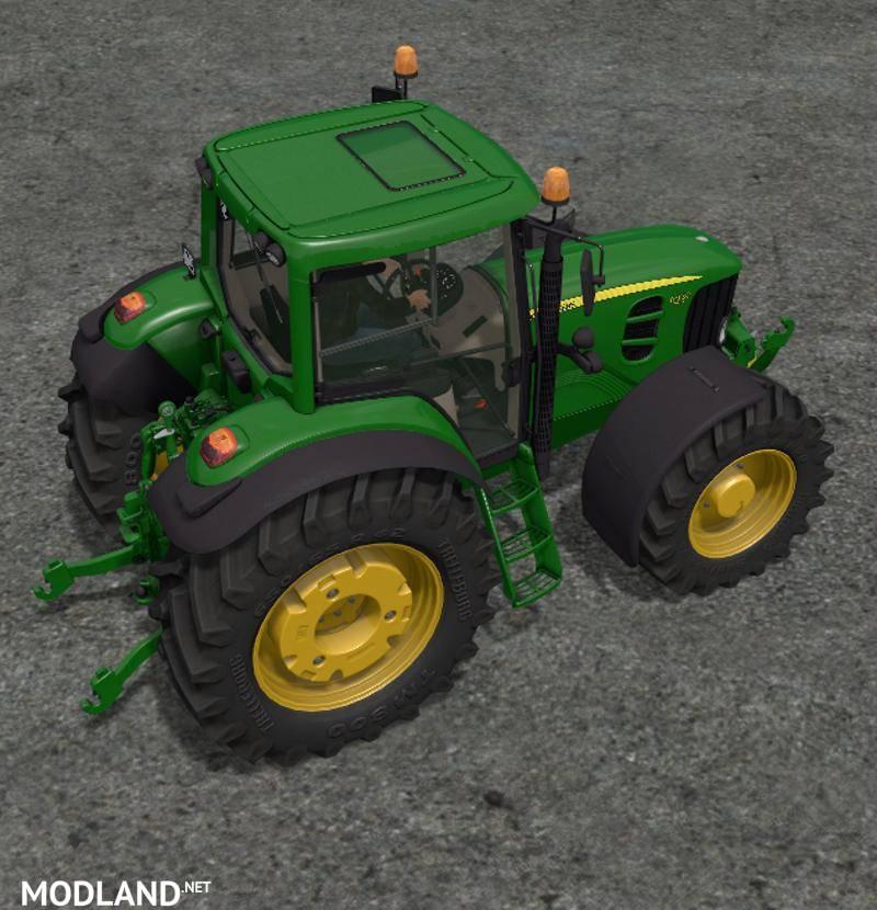 Volvo 240 Engine Mods: John Deere 6930 V 1.0 Mod Farming Simulator 17