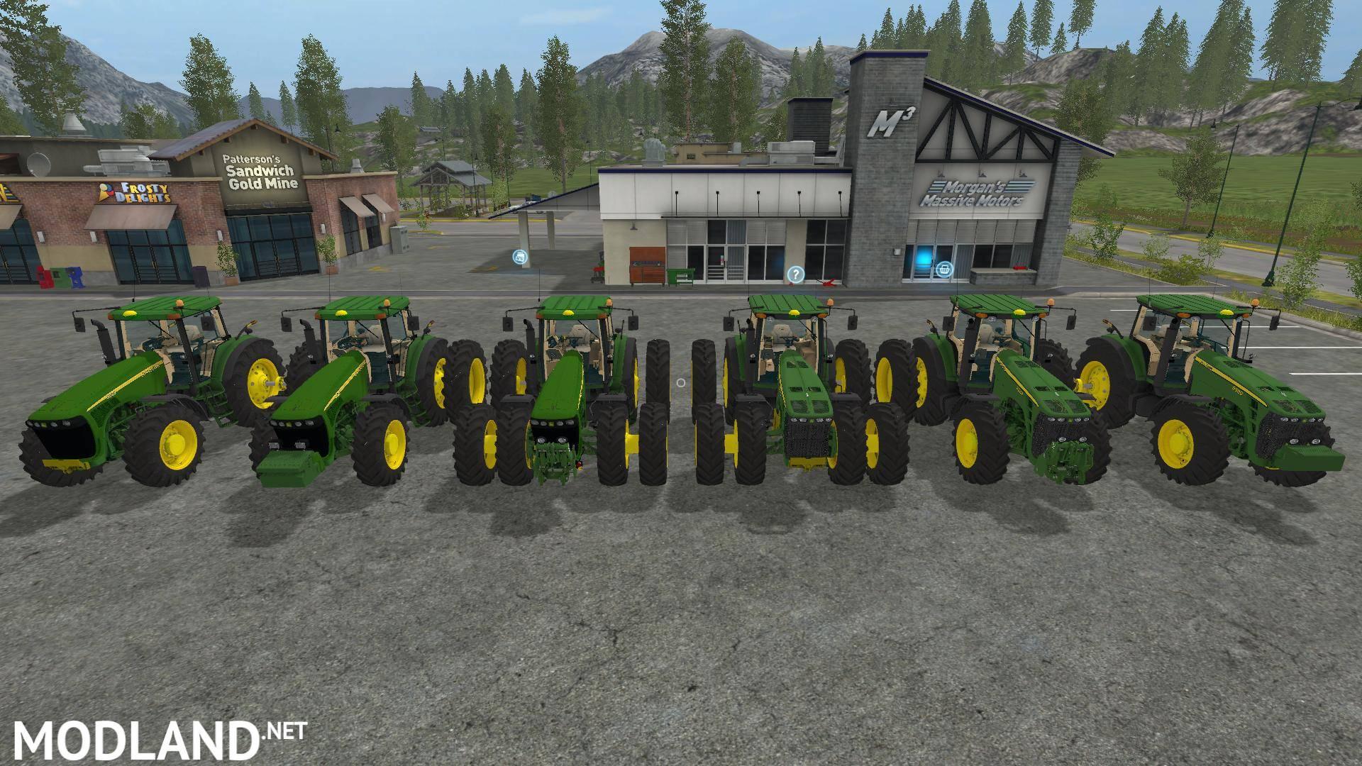 John Deere 85208530 Usa Pack V 10 Mod Farming Simulator 17