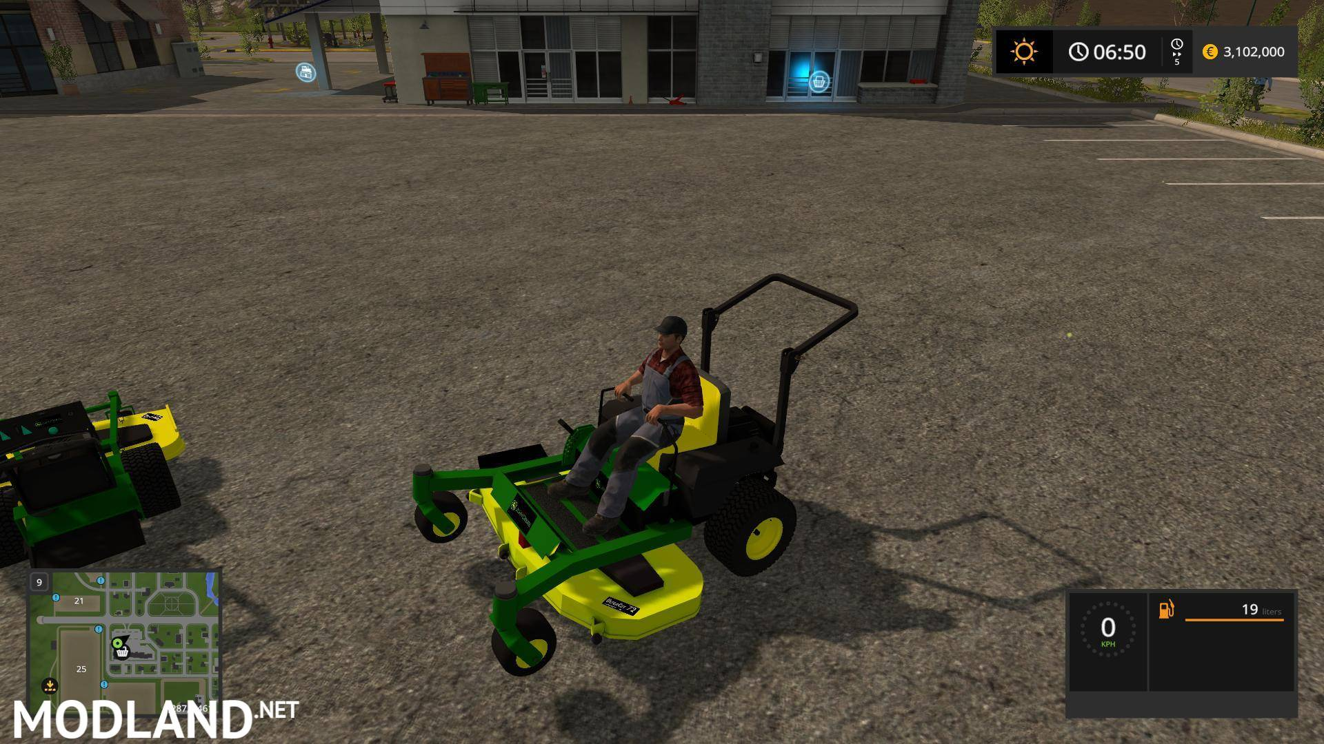 2017 Ford Bronco >> John Deere Zero Turn Converted v 1.3 mod Farming Simulator 17
