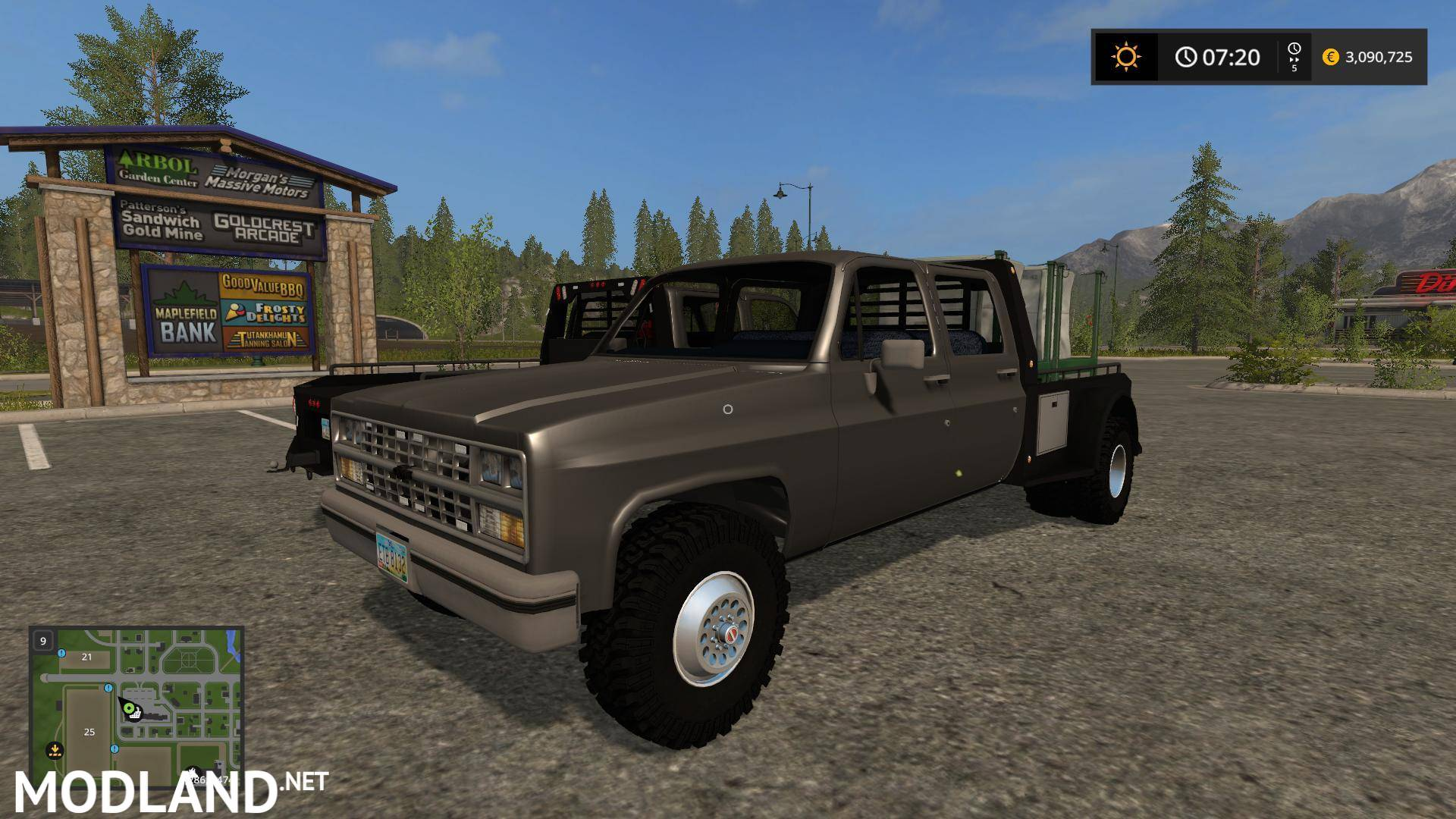 K30 Flatbed Chevy v 1.0 mod Farming Simulator 17