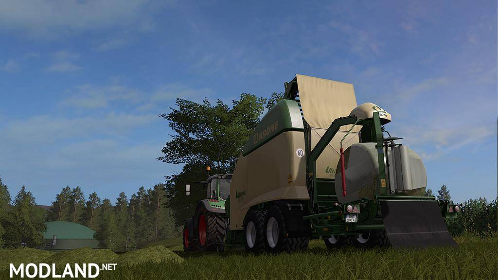 Krone Ultima CF 155 XC v 1 0 mod Farming Simulator 17