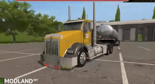Kw t800 cat edition v 1 0 mod farming simulator 17
