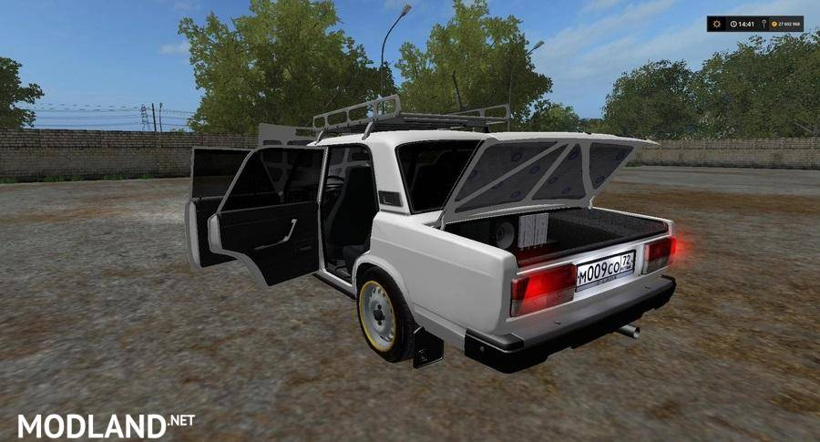 lada 2107 converted by dimka096 mod farming simulator 17. Black Bedroom Furniture Sets. Home Design Ideas
